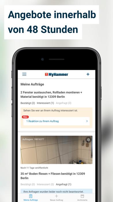 MyHammer HandwerkersucheScreenshot von 4