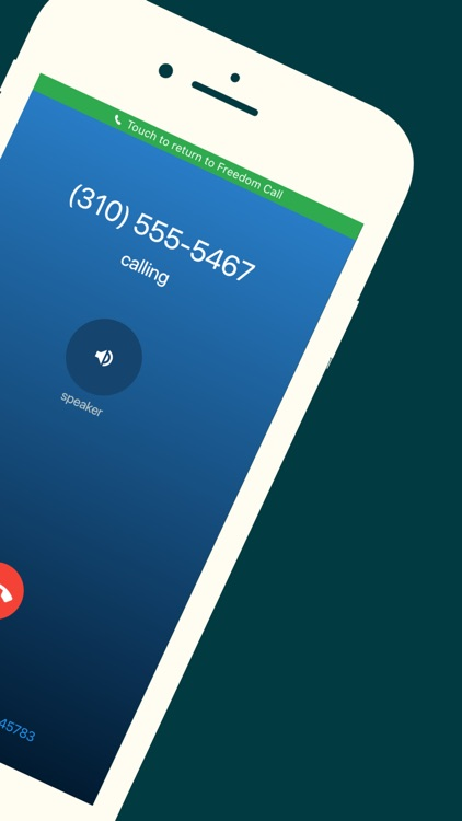 Freedom Call: 2nd Phone Number