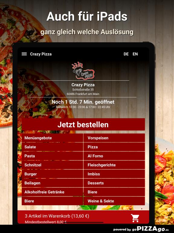 Crazy Pizza Frankfurt am Main screenshot 7