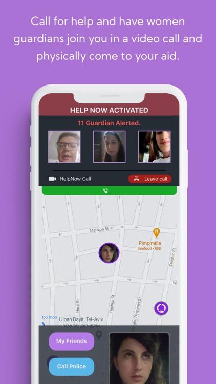 SafeUP - Women's Safety Net screenshot-3