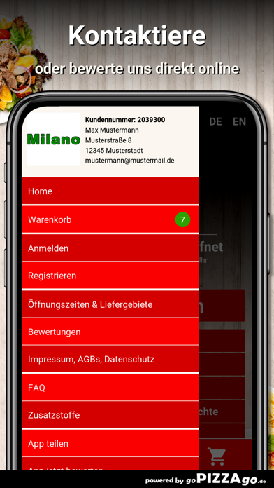 Heimservice Milano Pirmasens screenshot 3