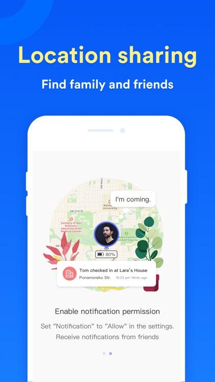 Find My Friends,Family Tracker screenshot-4