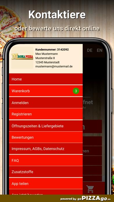 M Roma Pizza Ulm screenshot 3