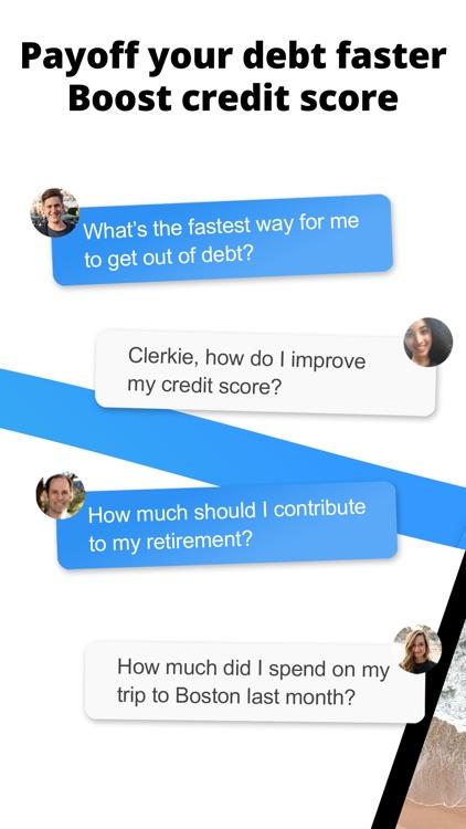 Clerkie Payoff Debt Bills Fees screenshot-4