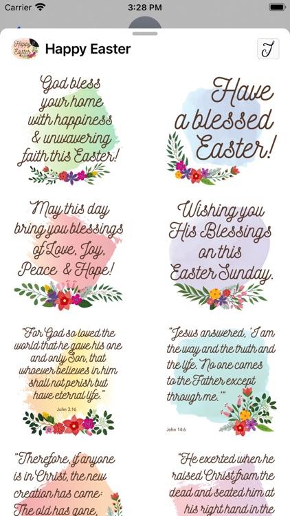 Easter Greetings, Bible Verses