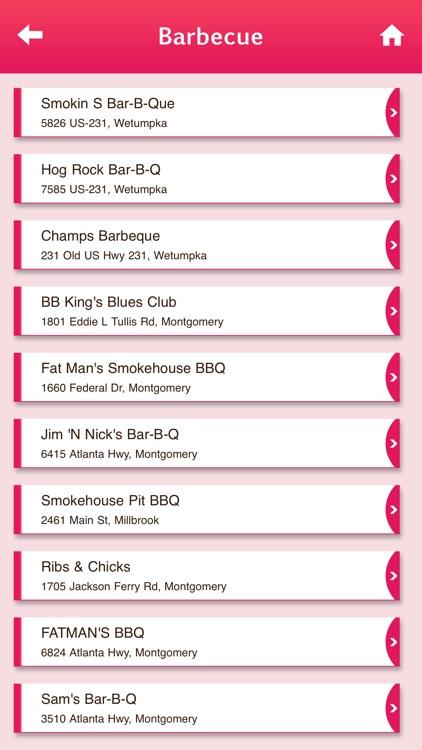 BBQ Restaurants USA & Canada screenshot-4