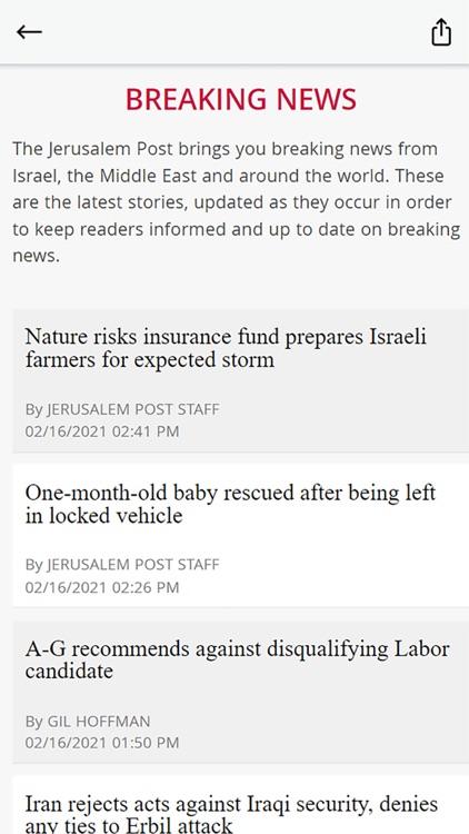 The Jerusalem Post screenshot-4