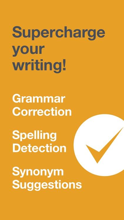 CorrectMe English Grammar help screenshot-0