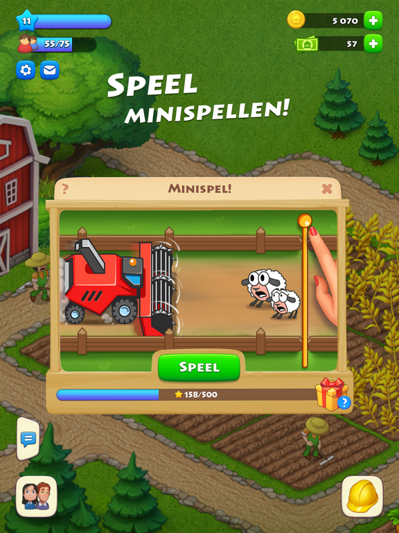 Township iPad app afbeelding 1