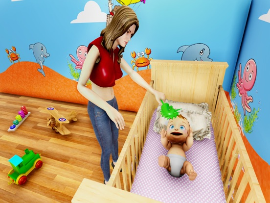 Pregnant Mom Simulator Life 3D screenshot 10