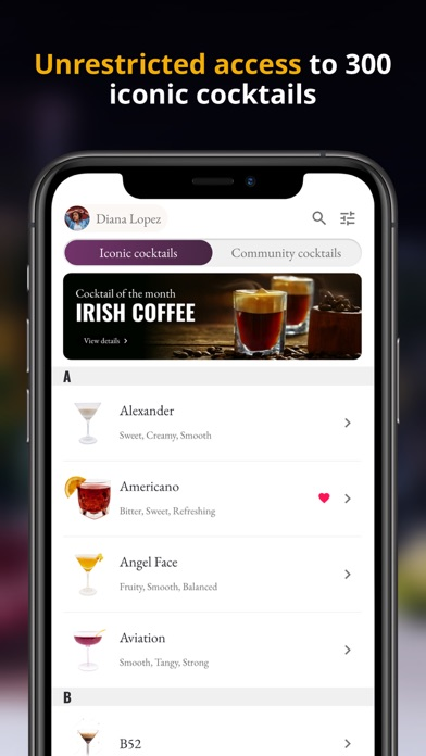 Wunderbar CocktailsScreenshot of 3