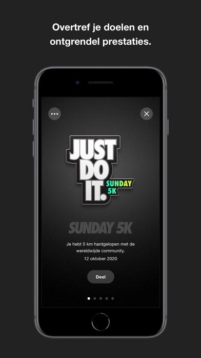 Nike Run Club iPhone app afbeelding 3