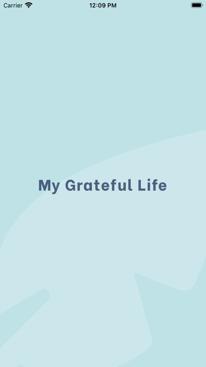 My Grateful Life
