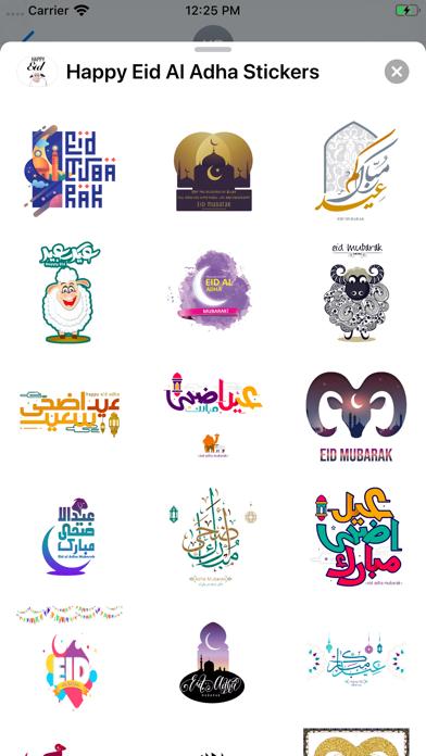 Happy Eid Al Adha Stickers screenshot 4