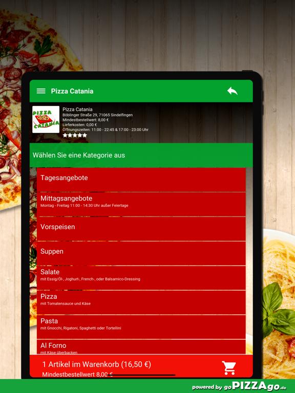 Pizza Catania Sindelfingen screenshot 8