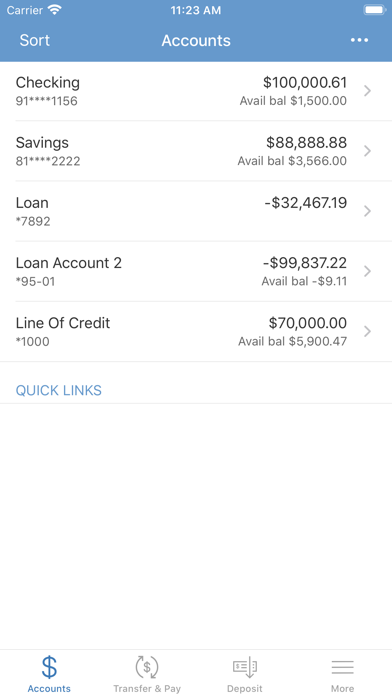 Iowa State Bank Mobile BankingScreenshot of 3
