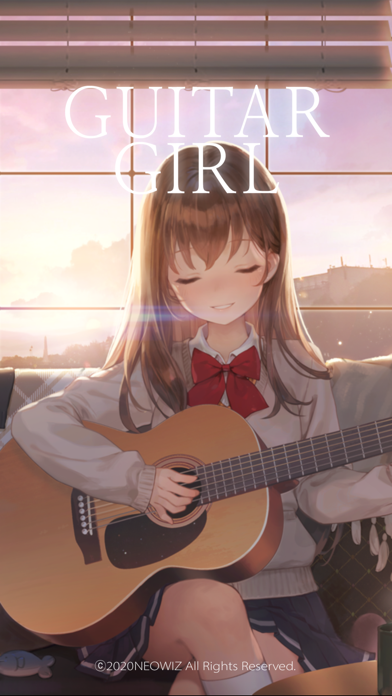 Guitar Girl:Relaxing MusicGame screenshot 1
