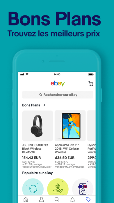 messages.download eBay shopping: acheter, vendre software