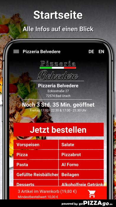 Pizzeria Belvedere Bad Urach screenshot 2