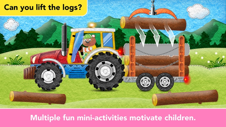 Ice Cream & Fire Truck Games 4 screenshot-4
