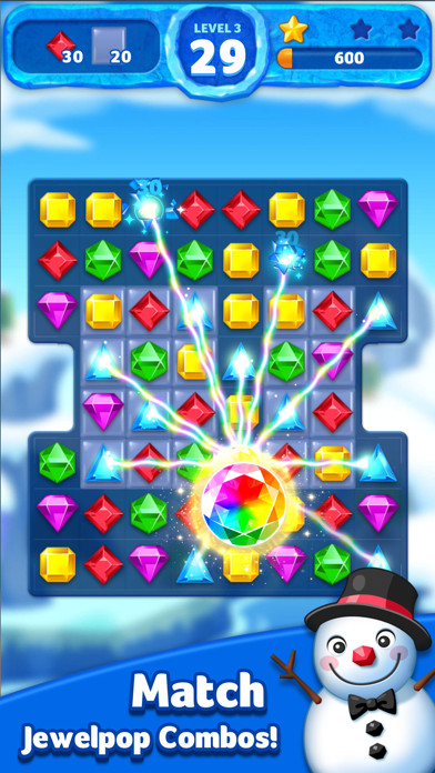 Jewel Ice Mania: Match3Puzzle! for windows pc
