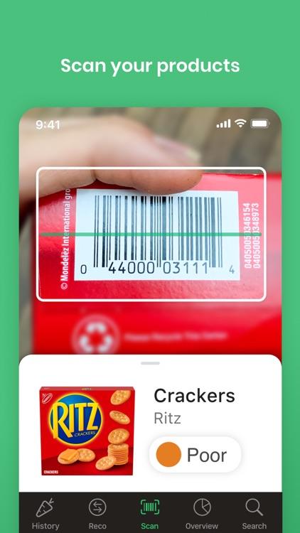 Yuka - Food & Cosmetic scanner