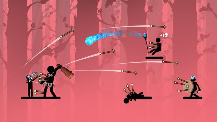 The Archers 2: stick man game screenshot-4