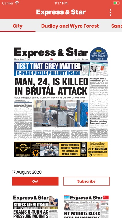 Express & Star Newspaper