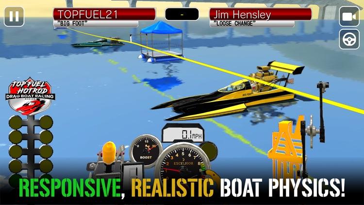 Drag Racing Boat Game - HotRod