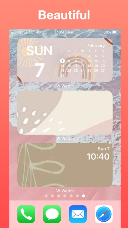 Widget Watch, Photo Calendar + screenshot-7