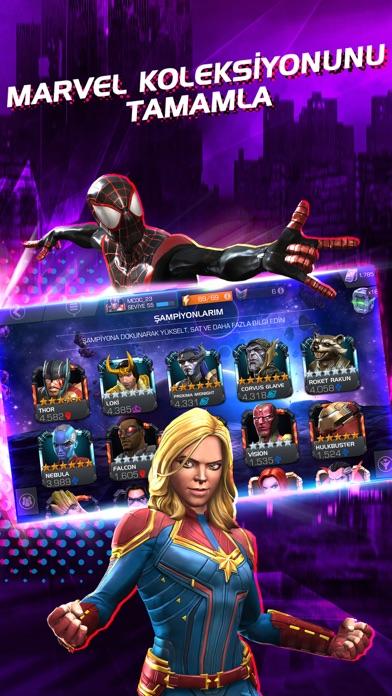 Marvel Şampiyonlar Turnuvası iphone ekran görüntüleri