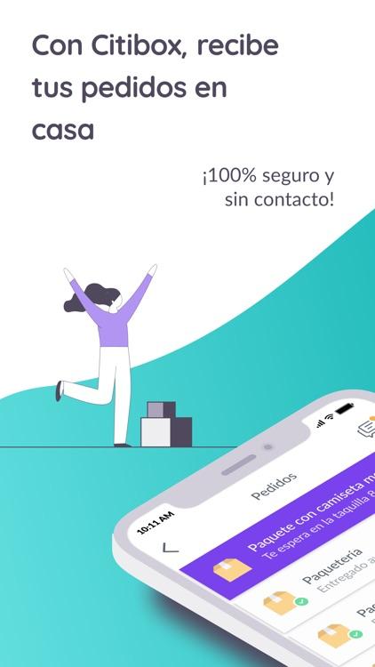 Citibox, recibe tus paquetes screenshot-3
