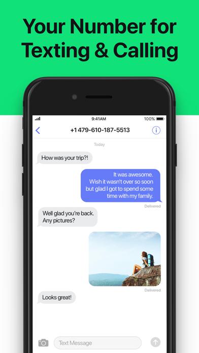 2Number - Second Phone Number Screenshot