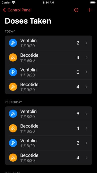 Track My Asthma Screenshot