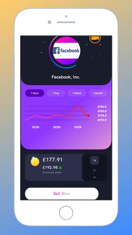 Trad3r - Social Trading Game screenshot-3