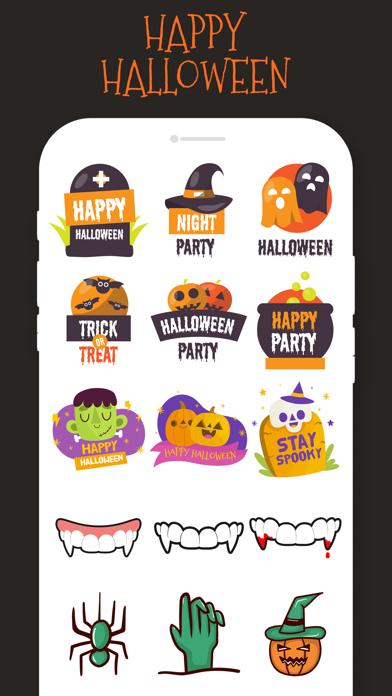 Halloween Stickers!!! screenshot 5