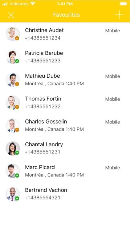 COMMaffaires Mobile screenshot-3