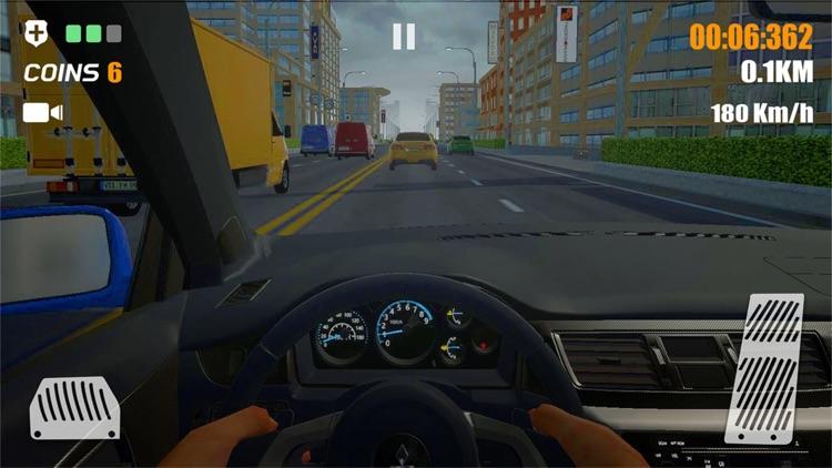 真实公路汽车 : 赛车竞速模拟器 screenshot-3