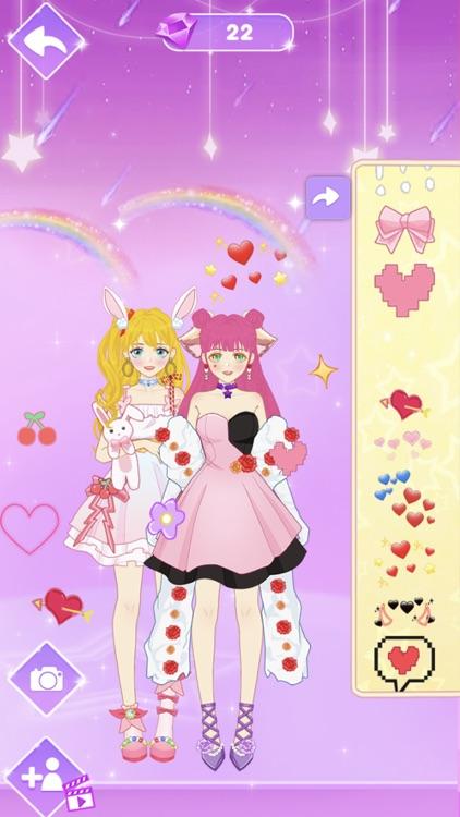 Star Girl Anime Dress Up screenshot-3