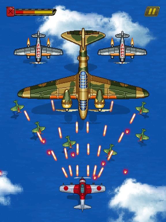 1945シューティングゲーム:飛行機ゲームのおすすめ画像3