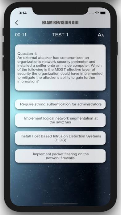 CISSP Exam Revision screenshot 2