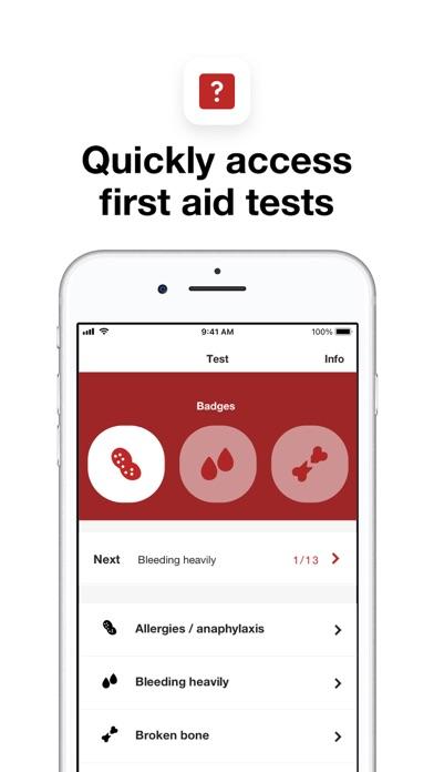 Baby and child first aid screenshot three