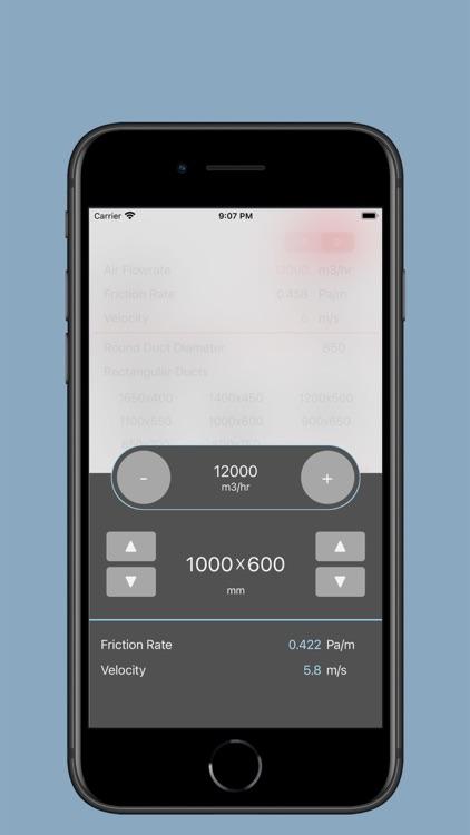Ductulator Duct Sizing screenshot-4