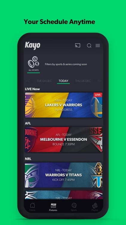 Kayo Sports screenshot-7