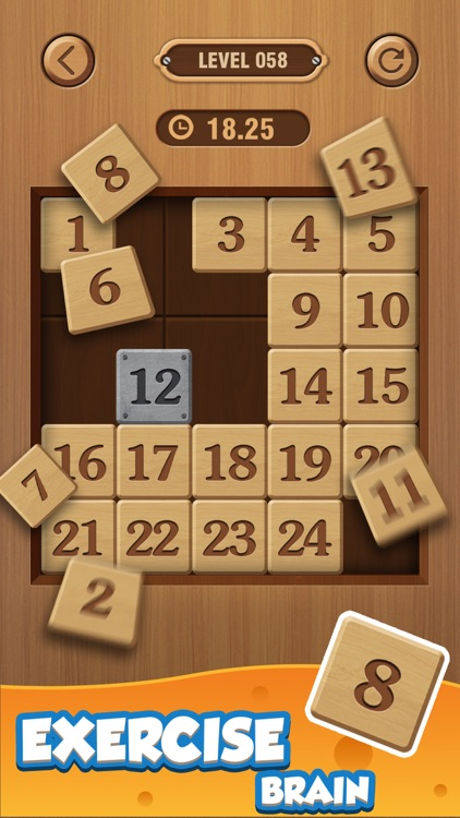 Number Puzzle: Wood Block 3D