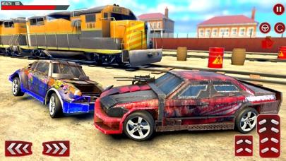 Train Car Derby Crash Sim 3D screenshot 2