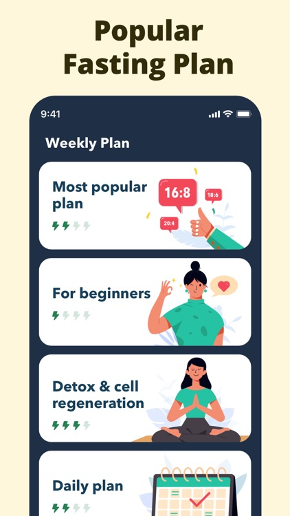 Fasting App - Lose Weight Diet screenshot-3