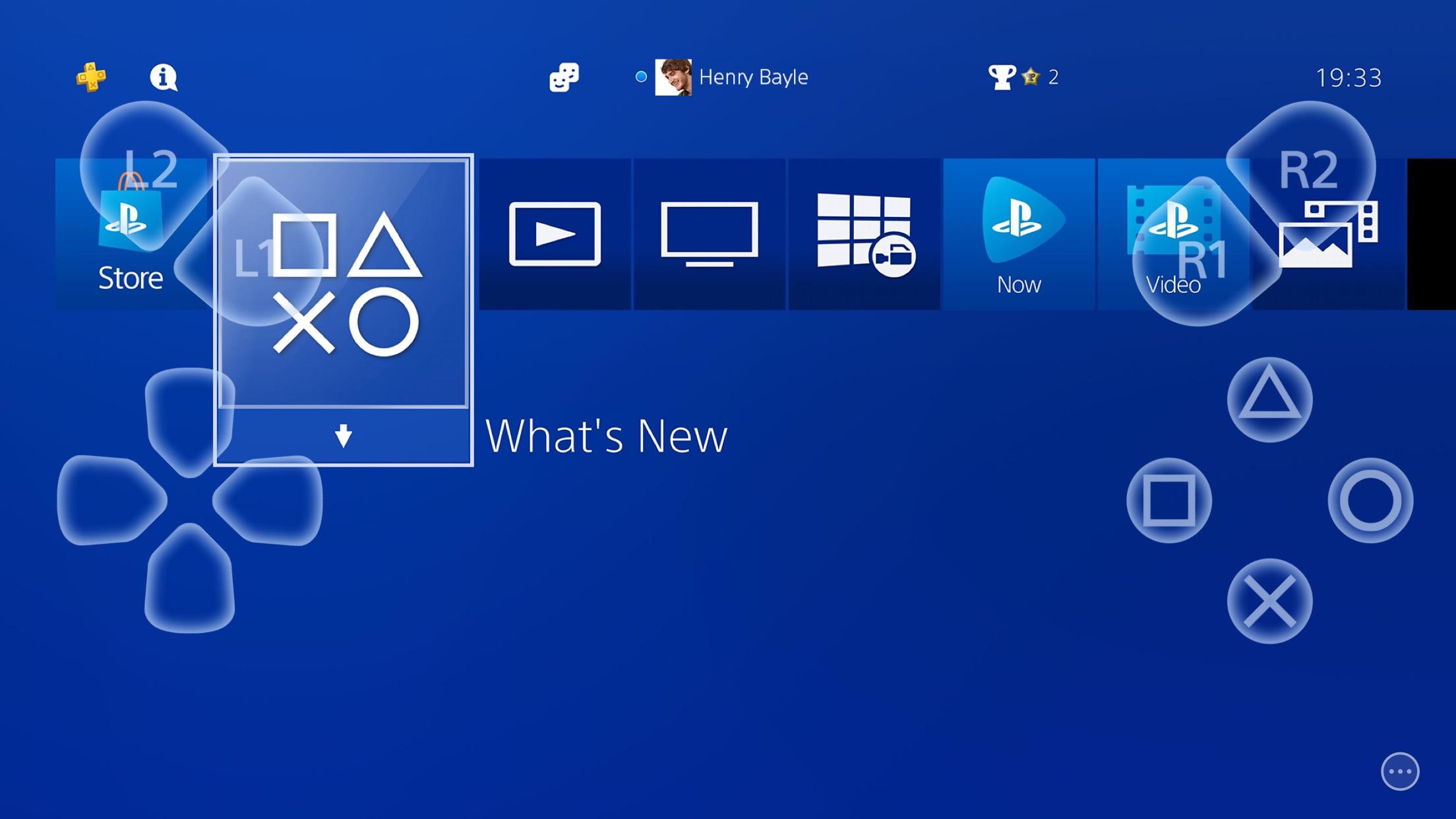 Screenshot do app PS Remote Play