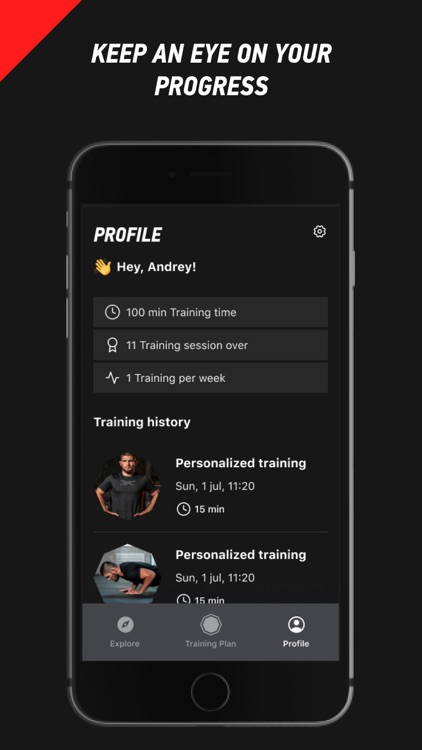 OctaZone: Workouts by Khabib screenshot-7