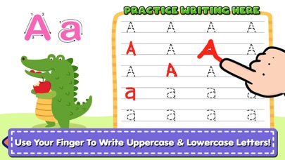 My Alphabet Writing screenshot 1
